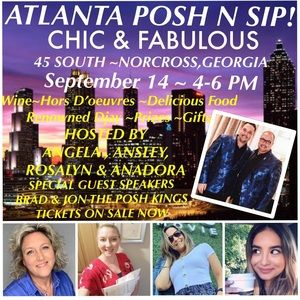 Other - ATLANTA POSHERS get ready for Posh N Sip!!!
